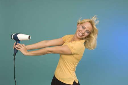 dryer: Blonde Hair Dryer