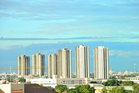 Skyscraper in Thaland photo