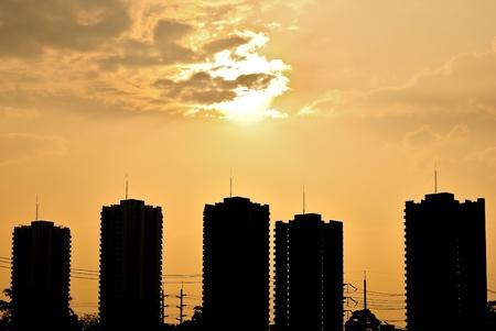 skyscraper in bangkok city