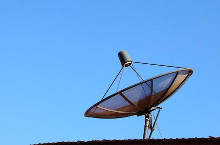 satelliteon the roof