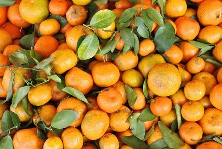 orange stack Stock Photo
