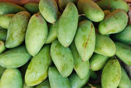 mango stack Stock Photo