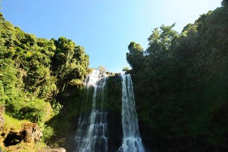waterfall in laos Stock Photo