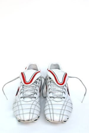football boots Stock Photo