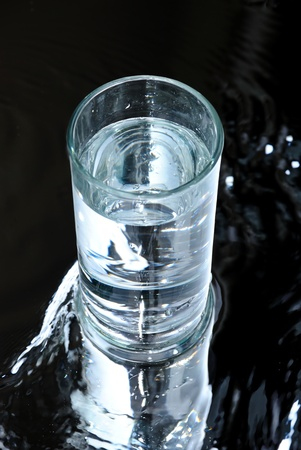 glass water Stock Photo