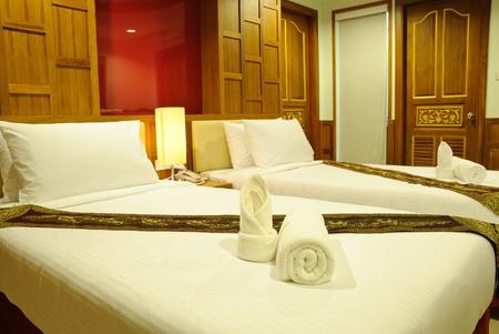 luxury hotel room: Hotel room in Thailand