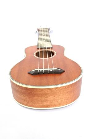 ukulele on the white background Stock Photo