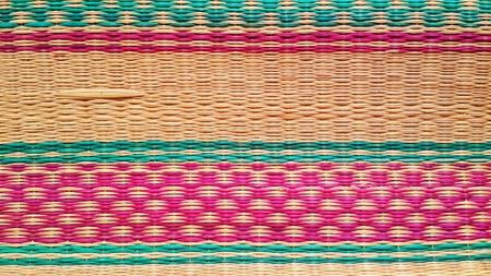 weave: Colour of mats