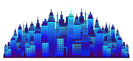 Cityscape. Vector illustration.