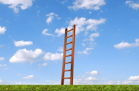 ladder to sky,staircase,