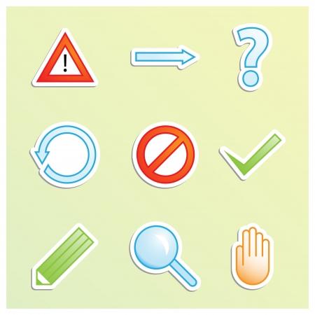 Program icons Stock Vector - 22094682