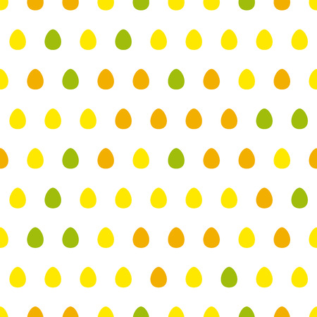 Egg seamless pattern Vector