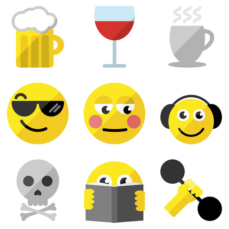 emoticons: Sef of emoticons