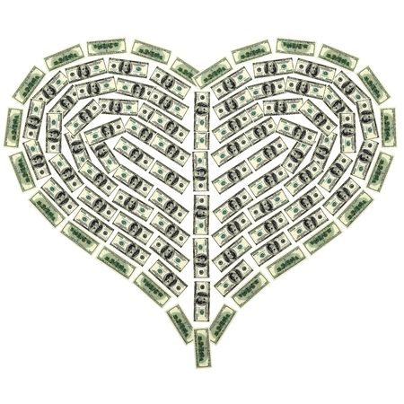 This 3D image heart from dollar Stock Photo