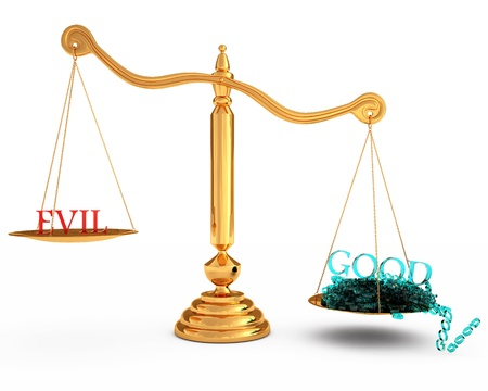 versus: more good than evil in the gold scales