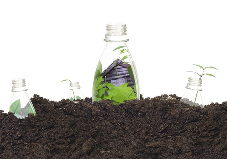 Ekologické Plastové láhve