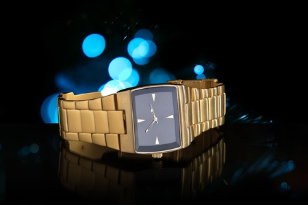 Luxury Gold Wristwatch