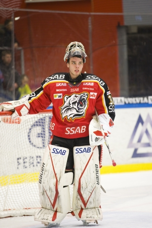 Johan Gustafsson - Drafted by Minnesota Wild (NHL) 2012 Stock Photo - 13887801