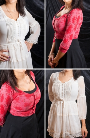 Collection - Women fashion Stock Photo - 14412921