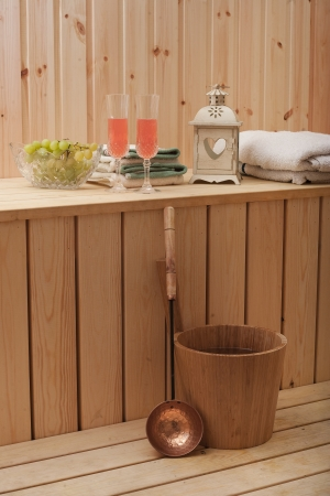 Finnish Sauna Stock Photo - 15484313
