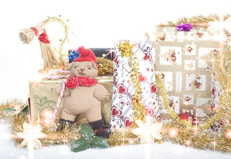Christmas presents Stock Photo - 16661803