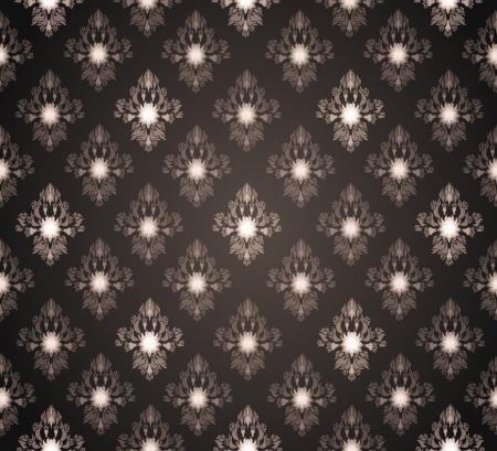 Royal Seamless Wallpaper Stock Vector - 17899025
