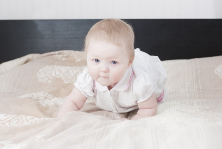 Cute baby having fun Stock Photo - 18204553