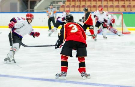 Jeu de hockey sur glace Banque d'images - 21971361