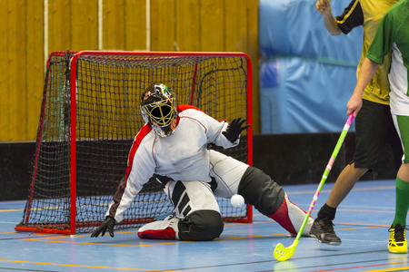 Floorball game