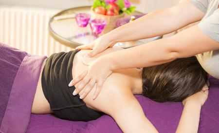 Beauty spa treatment Stock Photo
