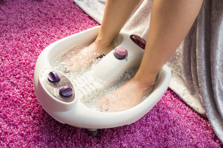 Foot bath massage