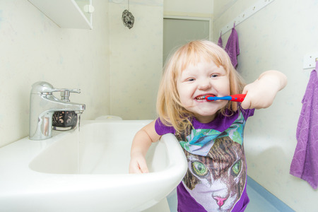 hygeine: Brushing Teeth