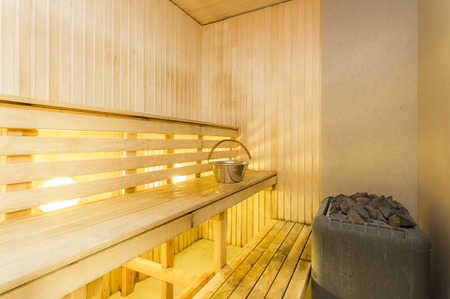 finnish bath: Sauna