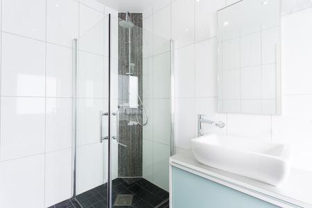 Modern shower photo
