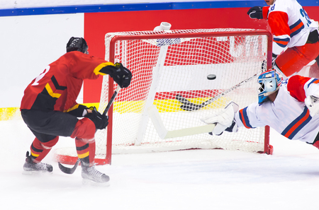 hockey goal: Hockey goal
