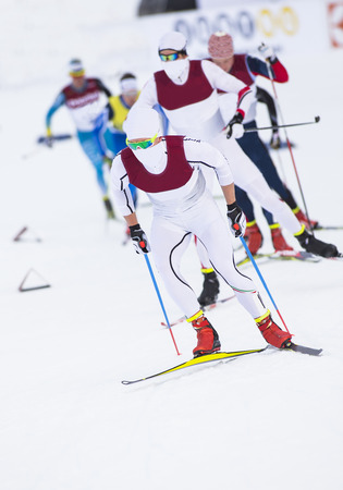 Cross country skiing competition
