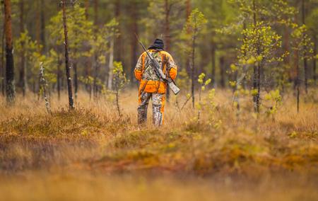 Hunter na podzimní lovecké sezóně