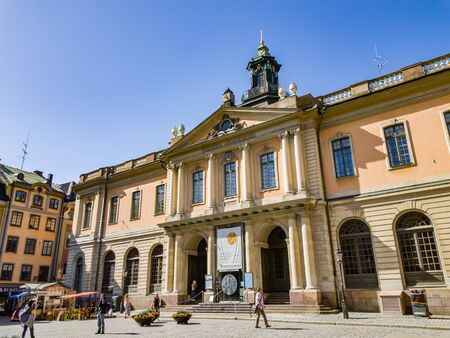 Stockholm, Sweden - may 05, 2018: The Swedish Academy