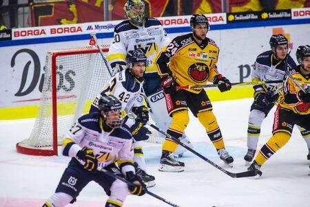 Lulea, Sweden - september 28, 2017: COOP Norrbotten Arena, Swedish Hockey League SHL, Lulea Hockey vs HV71 - EDITORIAL Stock fotó - 138205011