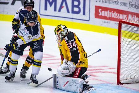 Lulea, Sweden - september 28, 2017: COOP Norrbotten Arena, Swedish Hockey League SHL, Lulea Hockey vs HV71 - EDITORIAL Stock fotó - 138205018