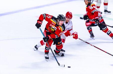 Lulea, Sweden - september 06, 2018: COOP Norrbotten Arena, Swedish Hockey League SHL, Lulea Hockey vs Timra IK - EDITORIAL (2-0 Lulea) Stock fotó - 138205092