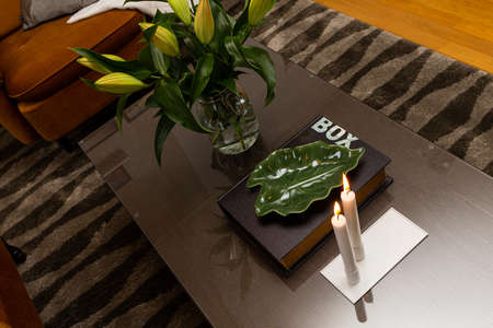 Interior home styling classic and modern details Stock fotó