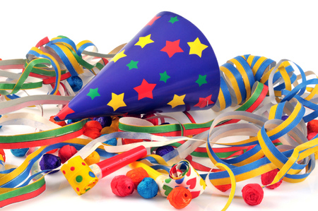 Party favors closeup photo Banque d'images - 102898701