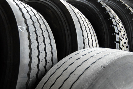 The tyres Banque d'images