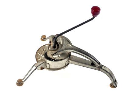 Old vegetable grinder