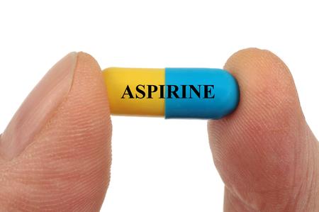 Aspirin capsule