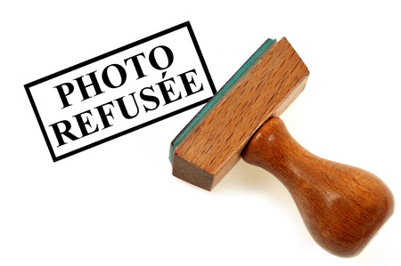 Photo Stamp Refused