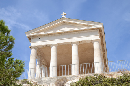 Chapel for Quarantine on the island of Friuli