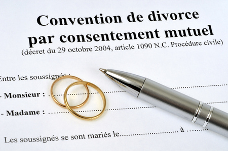 Divorce agreement by mutual consent