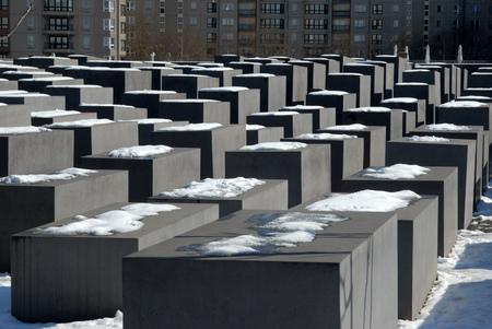 Holocaust Memorial in Berlin Editorial